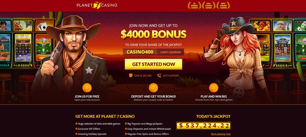 Planet 7 Casino apžvalga