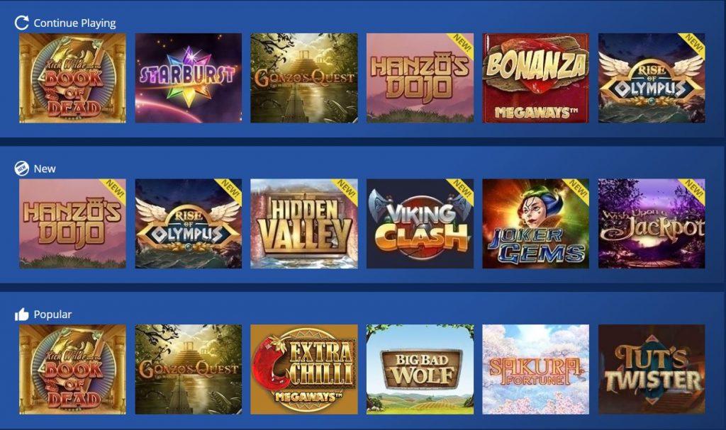 Casino Heroes azartiniai zaidimai