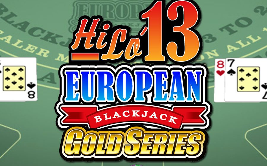 Hi Lo 13 European Blackjack Gold