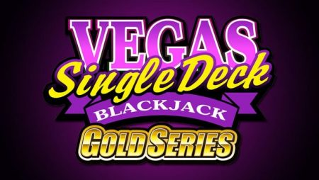 Vegas Single Deck Blackjack Gold