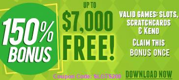 Slots Plus kazino premija $7000