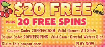 Slots Plus kazino premija $20