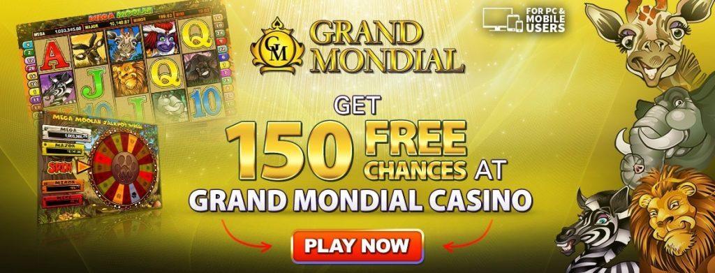 Grand Mondial Casino bonusai
