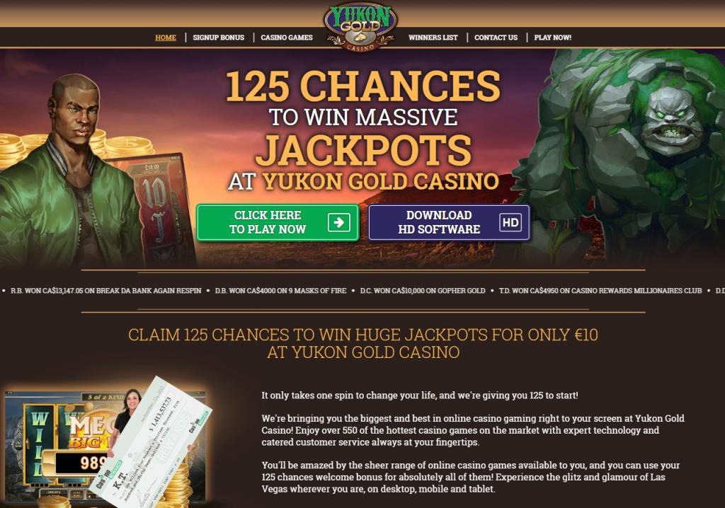 Yukon Gold Casino apžvalga