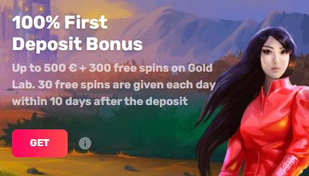 Casinomia kazino bonusai