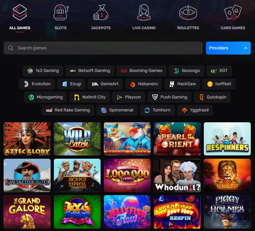 Casinomia lošimo automatai