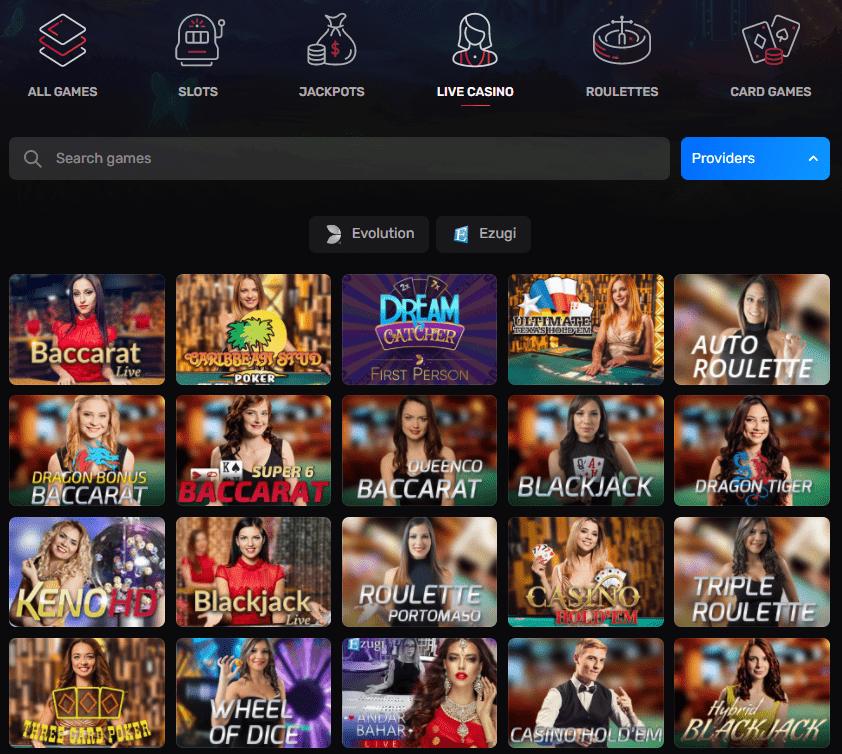 Casinomia kazino gyvai