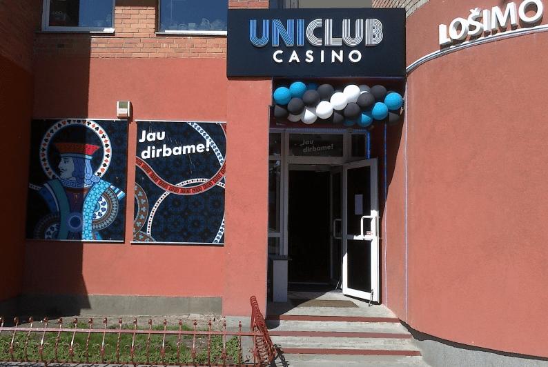 Uniclub Casino salonai