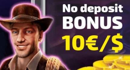 Kazino bonusai be depozito - 10 EUR