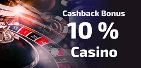Cashback kazino premija