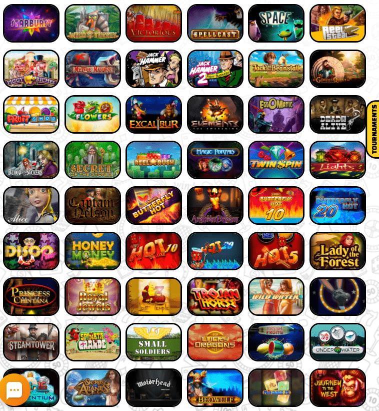 Betchaser kazino lošimo automatai