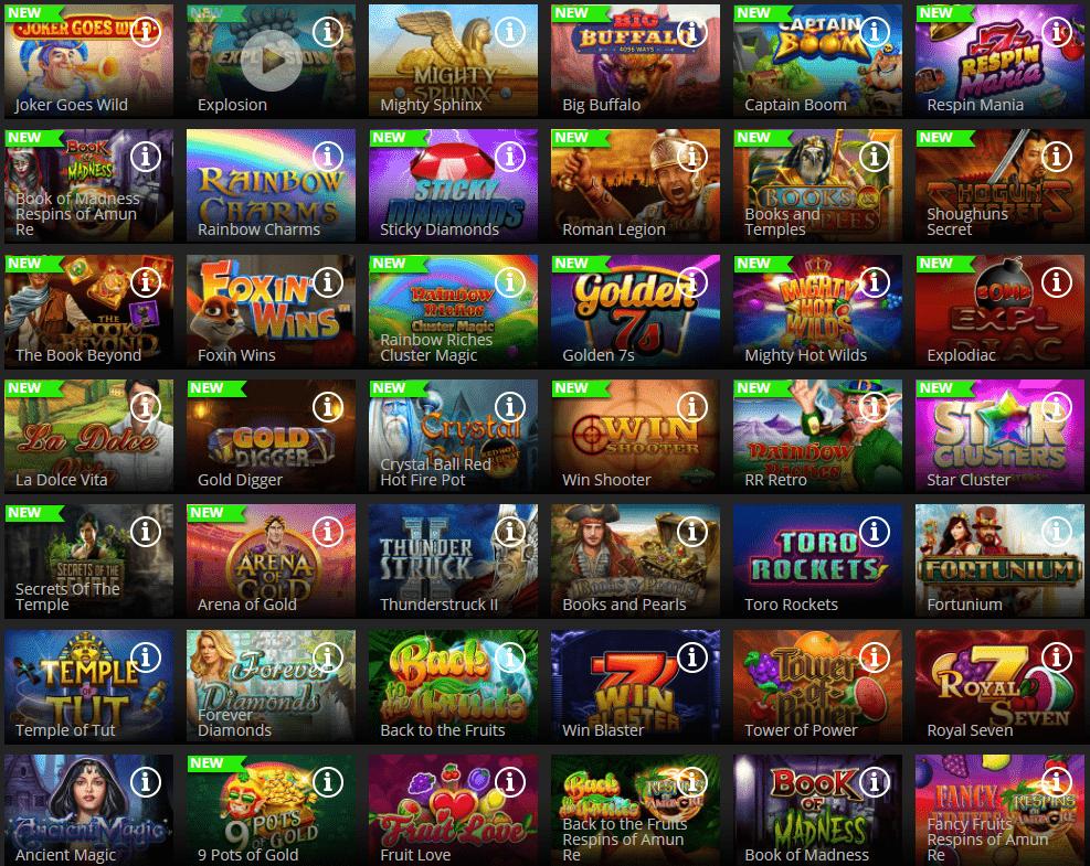 Lošimo automatai kazino Regent Play