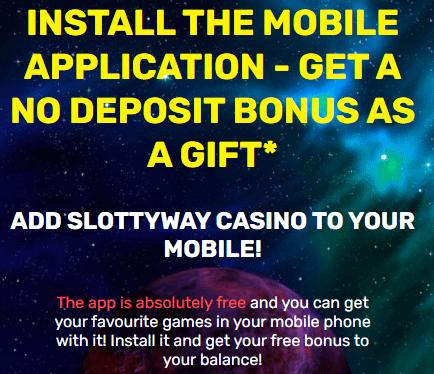 Slottyway app