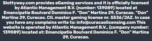 Internetinis Slottyway kazino