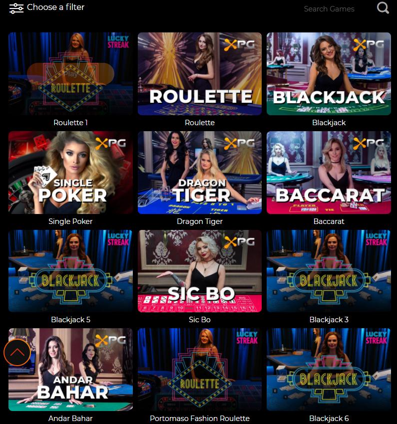 Fortune Clock live casino