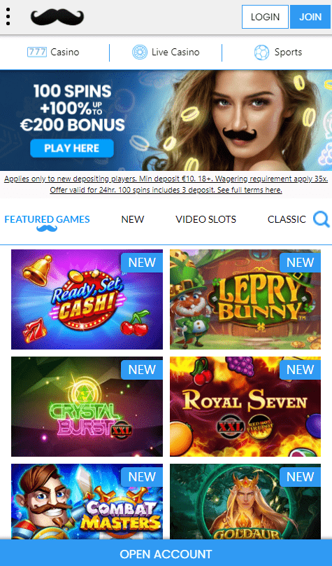 Mr Play mobilus kazino