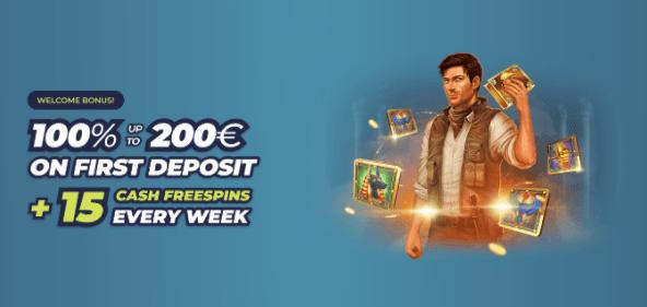 Naujoko kazino bonusai