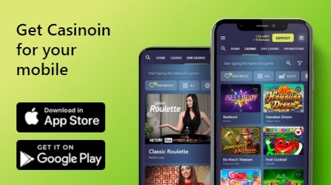 Casinoin - Android/iOS App