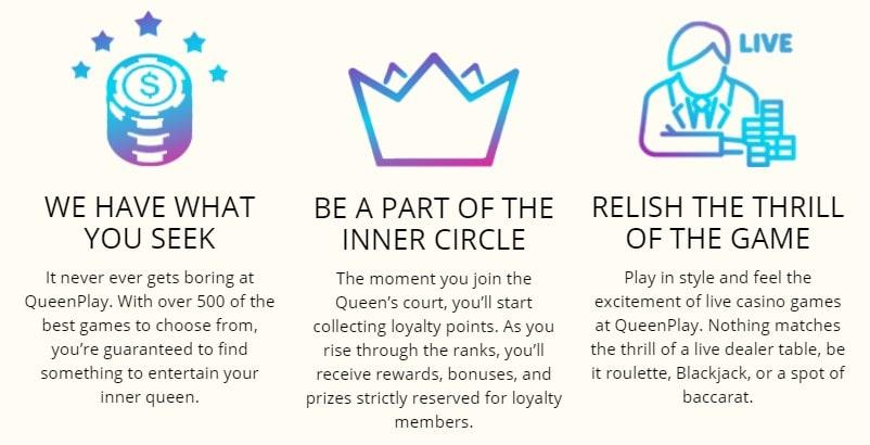 Queen Play išvados