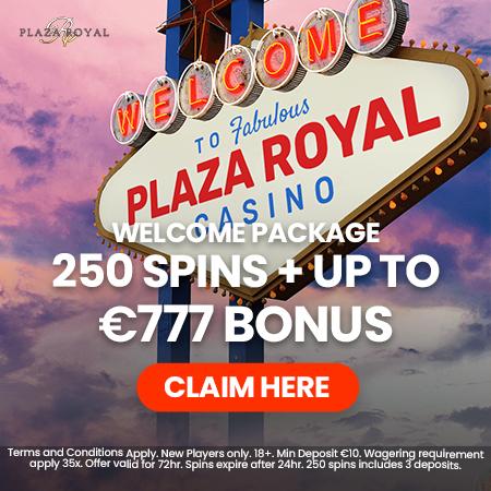 Plaza Royale kazino akcijos