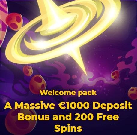 CosmicSlot kazino bonusai
