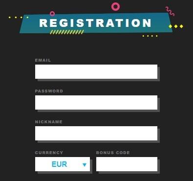 Booi Casino registracija