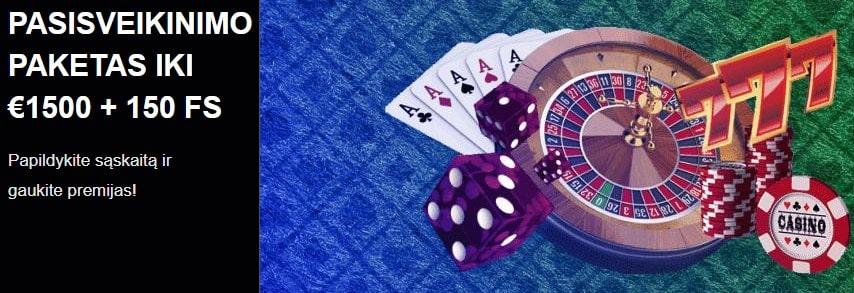 PariPesa kazino akcijos - Naujokų bonusu paketas